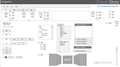 Wireframe Template for PowerPoint: Windows fields, buttons, navigation