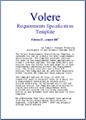 Volere requirements specification template business for Volere template free download