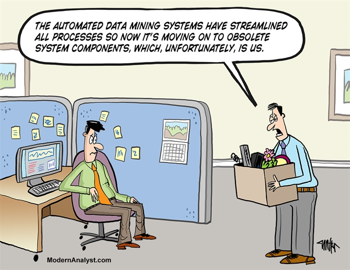 Humor - Cartoon: Obsolete System Components