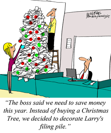 Humor - Cartoon: Merry Christmas! ... to all the Business Analysts around the world