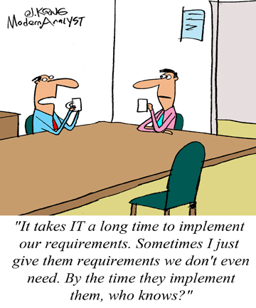 Humor - Cartoon: Future Proof Requirements?
