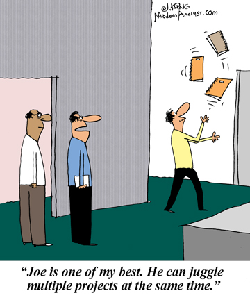 Humor - Cartoon: Every Successful Business Analyst has an Edge