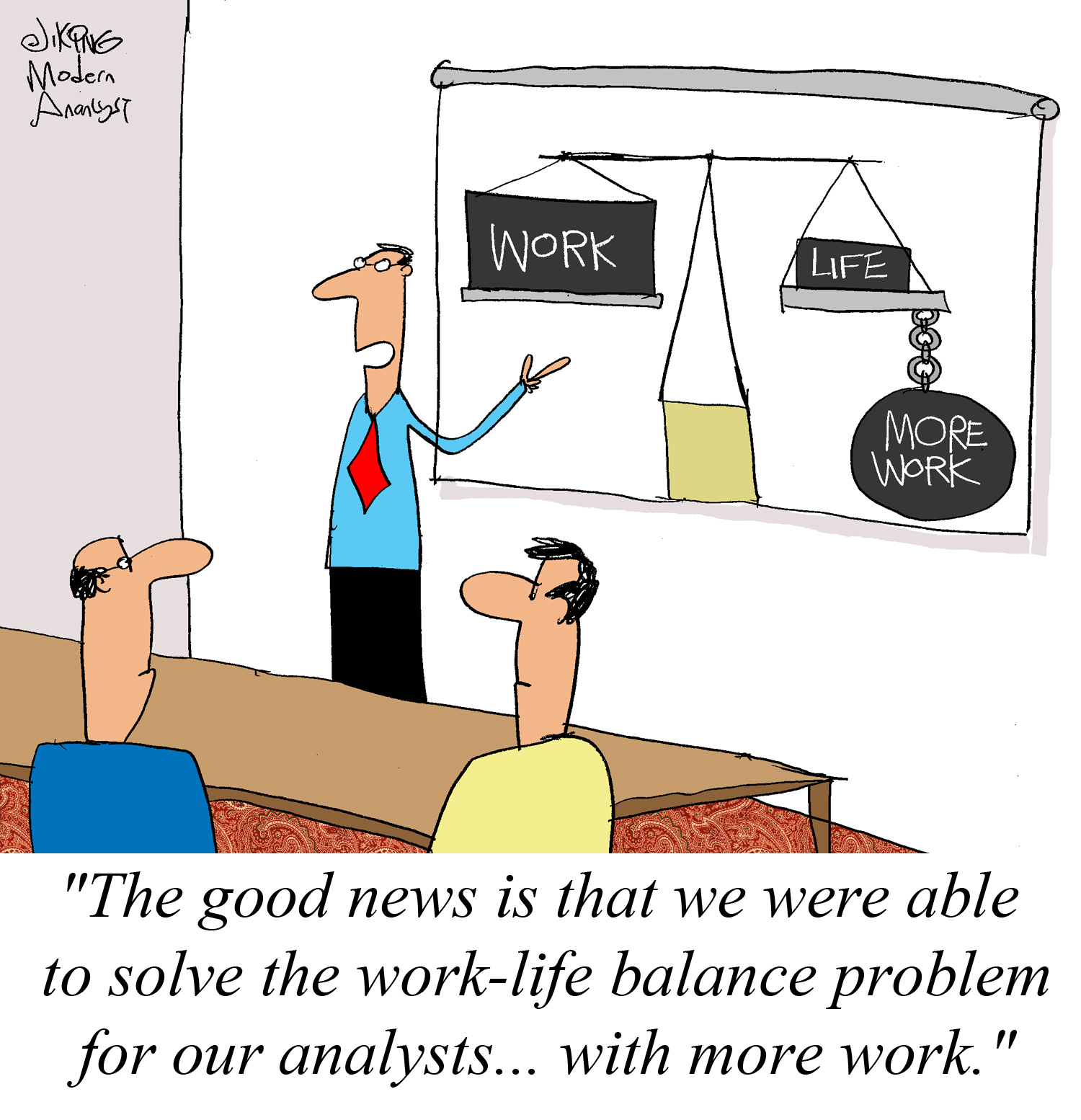 Humor Work Life Balance For The Business Analysts