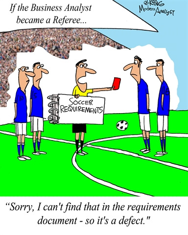 World Cup: If the Business Analyst became a referee...
