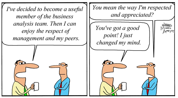 Respect for Business Analysts
