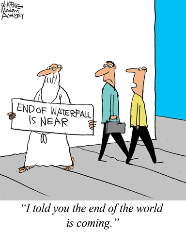 End of the world... for Business Analysts...