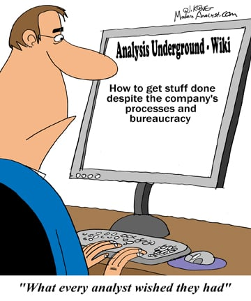 Humor - Cartoon: What every business analyst wished they had