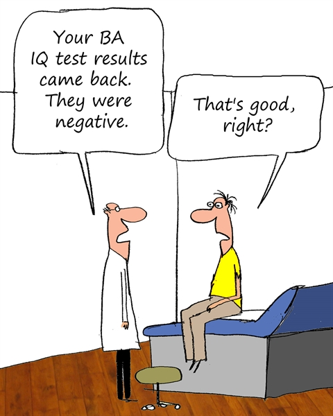 BA IQ Test