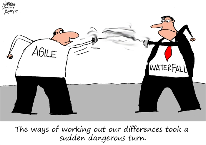 Agile vs. Waterfall - Resolving the Differences