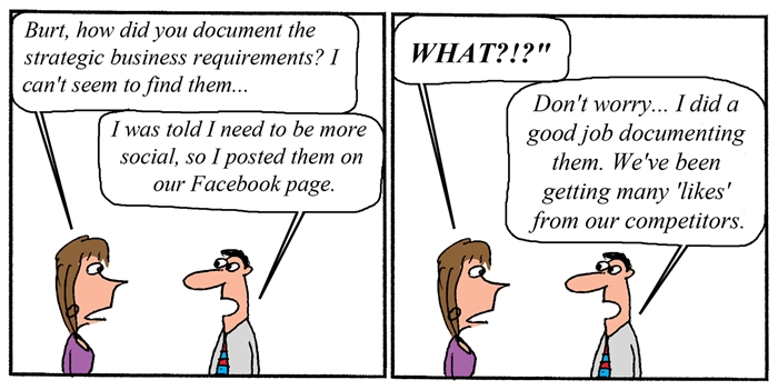 Humor - Cartoon: Requirements and Social Media