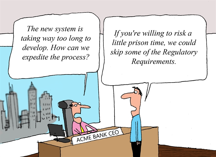 Regulatory Requirements Getting in the Way