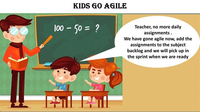 Humor: Kids Go Agile