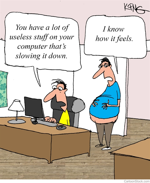 Humor: Slow Computer Problem