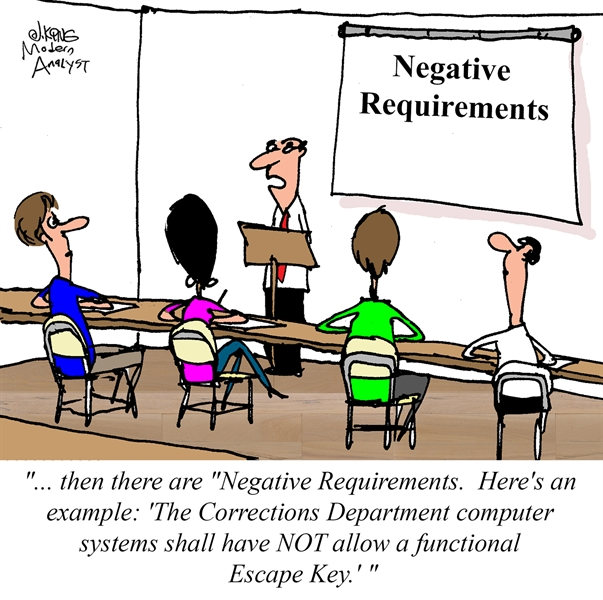 Negative Requirements