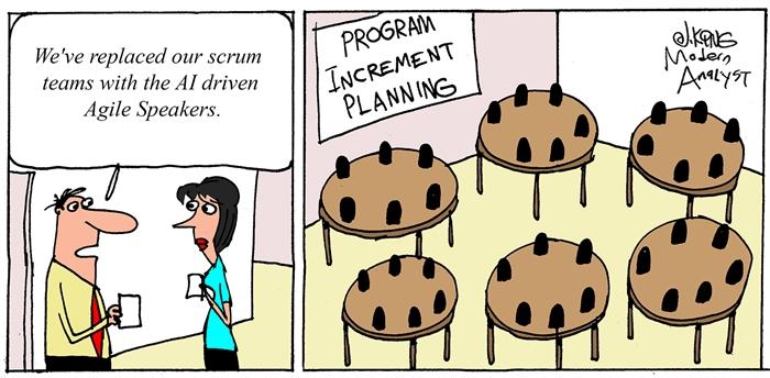 Humor: Virtual Program Increment (PI) Planning