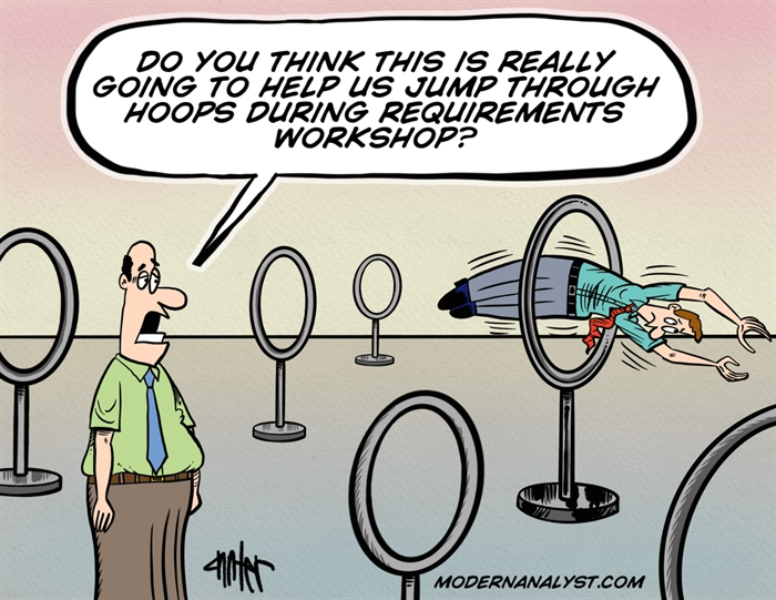 Jumping Through Requirements Hoops
