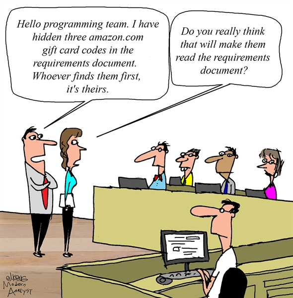 Read the Requirements Document