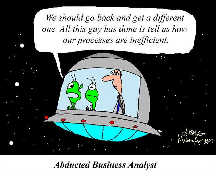 Abducted Business Analyst