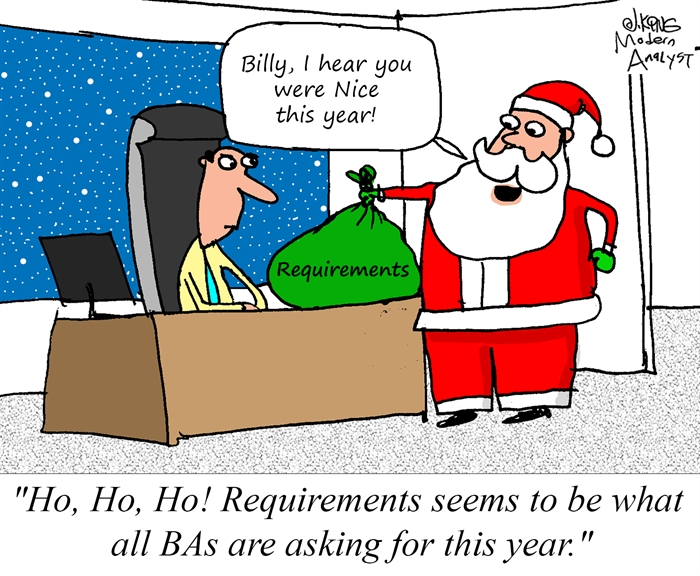 What Business Analysts want for Christmas