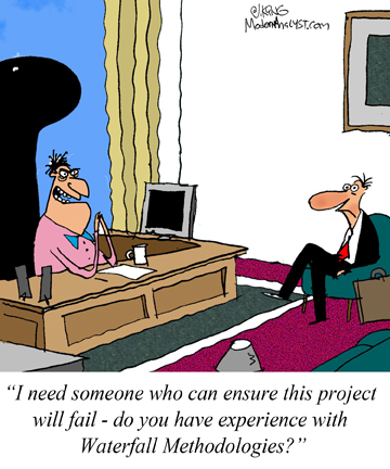Humor - Cartoon: Help!  This project needs to fail!