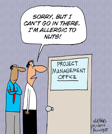 Humor - Cartoon: Do you suffer from work-induced allergies?