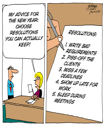 New Year\'s resolutions you can keep! Happy New Year! > Business ...