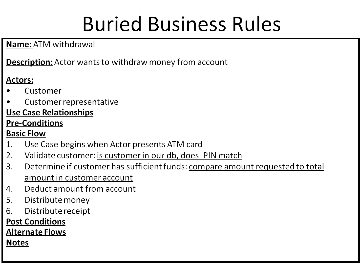 Use Cases And Business Rules: Can They Work Together?