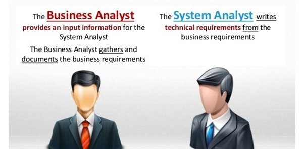 differences duties and responsibilities of business analysts and system analysts