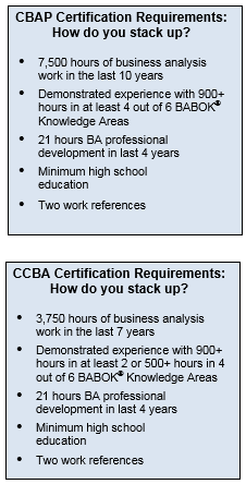 Seven Steps to Passing the CBAP® or CCBA® Exam: A Foolproof