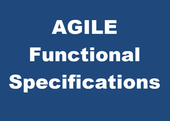 Agile Functional Specifications