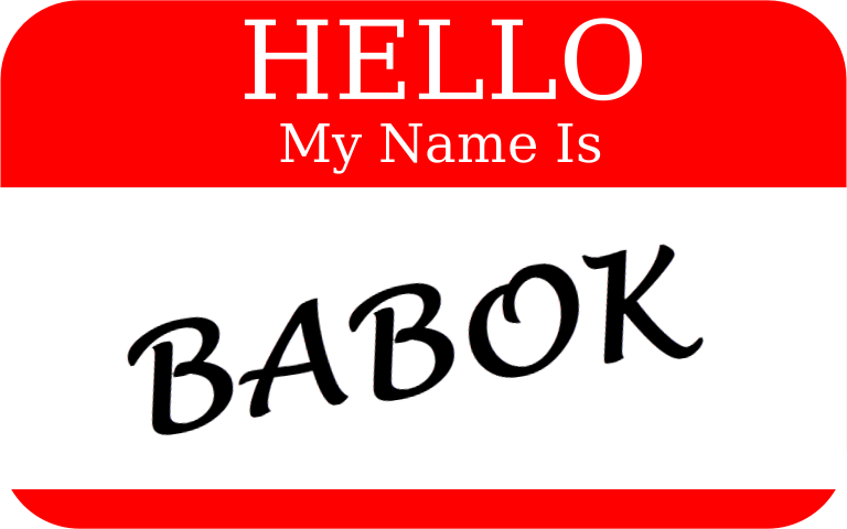 What is in a BABOK name